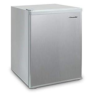 Inventor Mini-Kühlschrank 66L, Energieklasse A+, Silberne Farbe, Leise und ideal für Hotels, Studentenzimmer,Schlafzimmer und kleine Wohnungen.