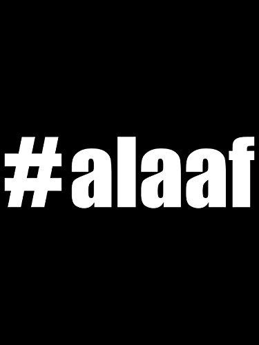 clothinx Damen T-Shirt Karneval #Alaaf Schwarz mit Weiß