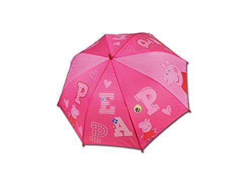 Regenschirm automatische Peppa Pig Sortiment 48cm
