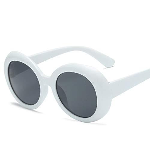 AAMOUSE Kurt Cobain Ovale Runde Sonnenbrille DamenmodeHot Vintage Retro Sonnenbrille Frauen Eyewear CloutBrille