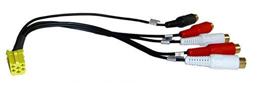 Vorverstärker 6 Pol.Mini. ISO Adapter Becker/Grundig/ Blaupunkt
