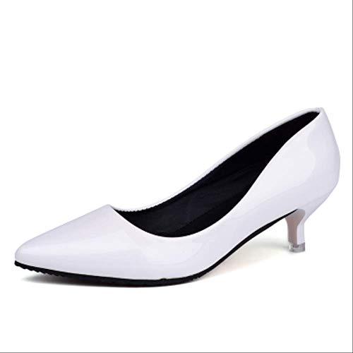 BRGXCAL High Heels Boca Baja De Mujer High Heels 10cm 4 4cm