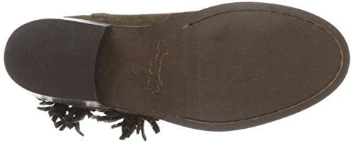 Wrangler Damen Pampa Fringes Cowboy Stiefel Braun (29 Taupe)