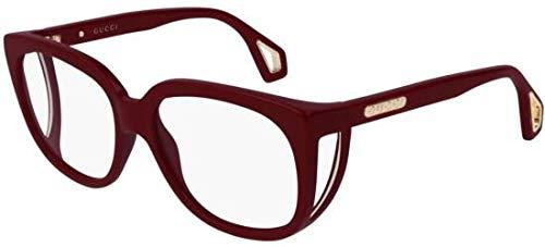 Gucci Brillen GG0470O BURGUNDY Damenbrillen