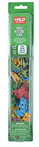 WILDREPUBLIC Wild Republic, Tubo Figuras variadas en plastico 35cm (12892), Multicolor 1