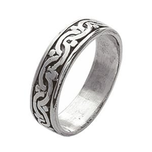 So Chic Bijoux-Anello celtico gaelico con sigillo