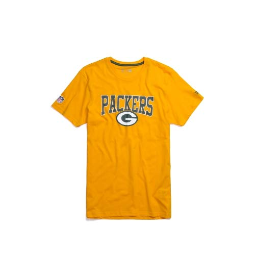 New Era Herren T-Shirts NFL Team Green Bay Packers gelb M -