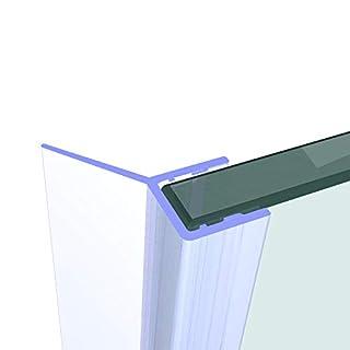 Duschdichtung 200 cm - für 8 mm Glas- Wasserabweiser Ersatzdichtung Duschprofil Duschtürdichtung Lippe. In unserem Shop finden Sie alle gängigen Formen für 6-10mm Glas.