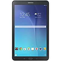 "Samsung Galaxy Tab E - Tablet de 9.6"" (WiFi, T-Shark2 Quad Core de 1.3 GHz, 8 GB, 1.5 GB RAM, Android KitKat), negro (Versión europea)"