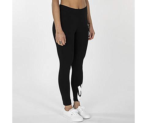 Nike Damen W NSW LEGASEE LGGNG 7/8 Futura Pants, Black/White, M