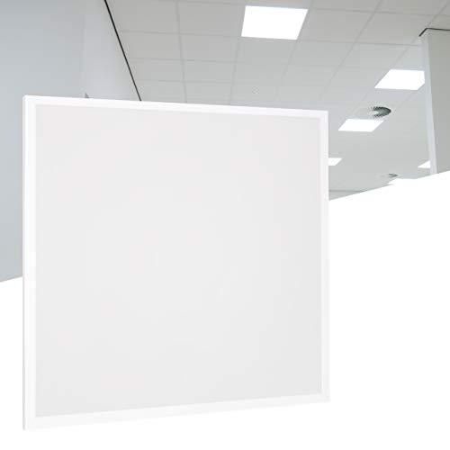 proventa® LED-Panel 620 x 620 mm, 3.000 K, nur 36 Watt (A++), starke 3.600 Lumen, inkl. wiederanschließbarem LIFUD-Marken-Netzteil, 2 Jahre Garantie