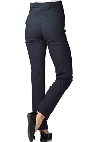 Christoff - Pantalon maternité - Jambe droite Femme Bleu Marine