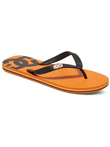 DC Shoes Spray - Flip-Flops - Tongs - Homme - US 6 / UK 5 / EU 38 - Orange