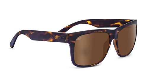 Serengeti Eyewear, Sonnenbrille Positano, Sanded Dark Tort/Polarized Drivers Gold, 8373