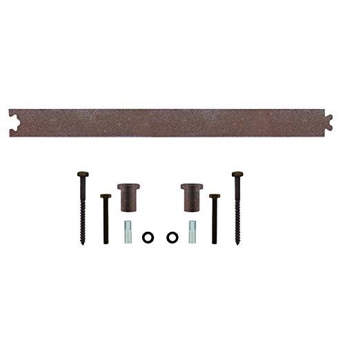 INTERSTEEL - Zwischenschiene Antik - Verlängerung für Schiebetüren, Innentüren und Wandschränke - 45 cm (Antik Wandschrank)