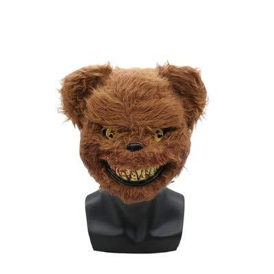 �nner und Frauen Cosplay blutigen Plüsch Maskerade Partei Erwachsenen Partei niedlichen Tier Kopfbedeckungen, Bär ()