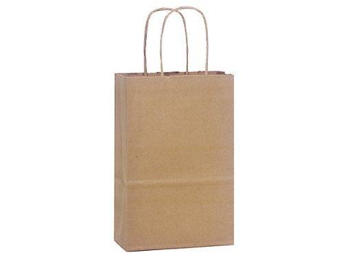 NAS, natürliches Kraftpapier, 100% recyceltes Papier, Rosa, 12,7 x 9,5 x 21,6 cm, 250 Stück