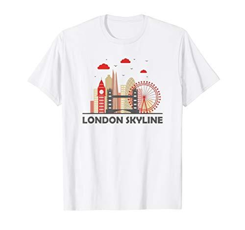 London Bridge British Icon UK Souvenir English Retro Gift  T-Shirt (Mailbox Fun)