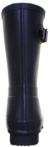 Hunter homme-Org Bottes en caoutchouc courtes pour homme Noir - Black jxl