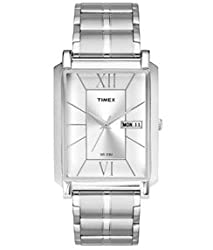 Timex Empera Silver Dial Color Men Watches-TW000W904