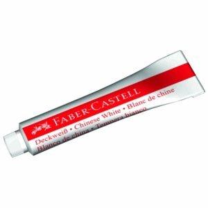 5 x Faber Castell Deckweiß 7,5 ml für Connector Farbkasten