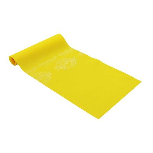 Thera-Band Übungsband / Trainingsband, latexfrei, verschiedene Spannungsgrade und Farben. Gelb gelb 4.0 metre
