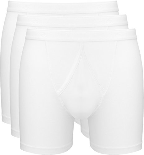 Boxershorts Herren Boxer 3-PACK BASIC COTTON (3402) White
