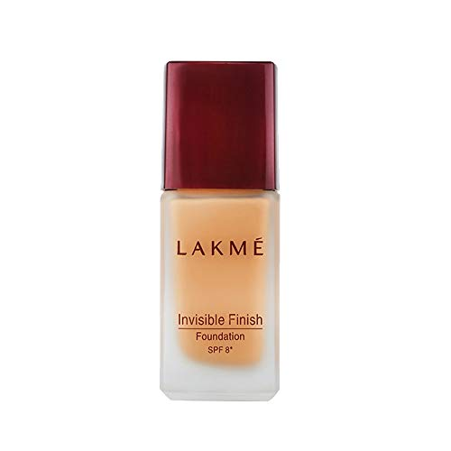 Lakme Invisible Finish SPF 8 Foundation, Shade 05, 25ml