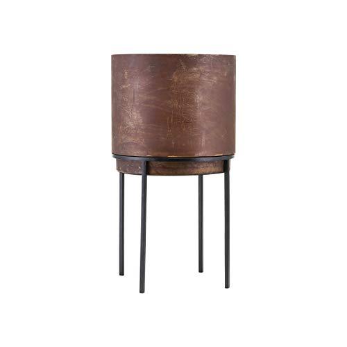 House Doctor Pot de Fleurs Nian Rouille 25 x 25 cm