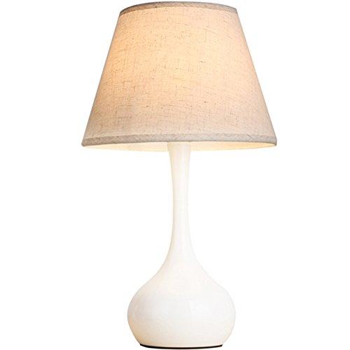 TUNBG Dekorative Tischlampe Schlafzimmer Nachttischlampe Moderne Einfache warme Tischlampe Fütterung Tischlampe -