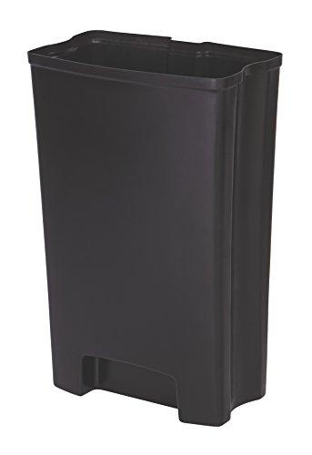Rubbermaid Slim Jim 1883619 50 Litre Front Step Step-On Resin Wastebasket Rigid Liner (Papierkorb Liner)