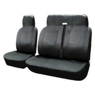 Premium Leder Look Van Sitzbezüge 2–1Wasserdicht