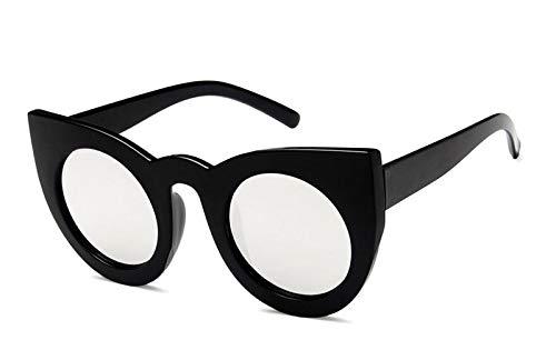 YUHANGH Mode Cat Eye Sonnenbrille Frauen Vintage Retro Sonnenbrille Weibliche Mode Cateyes Sunglass Shades