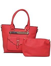 Senora Handbag For Women (Colour-Red)