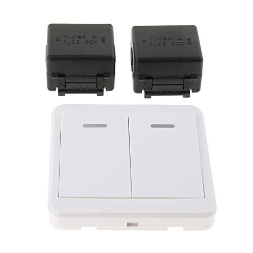 perfk Kit de Control Remoto Inalámbrico Receptor de Larga Distancia y Módulo...