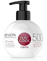 REVLON PROFESSIONAL Nutri Color Crème Soin Couleur Repigmentant 500 Rouge Pourpre, 270ml