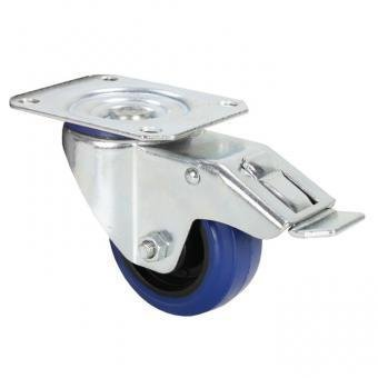ld-systems-372091-roulette-pivotante-avec-frein-bandage-80-mm-bleu
