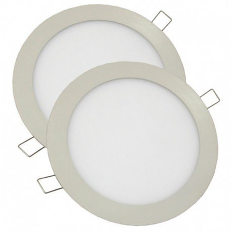 Alverlamp P2DLPLAST18W60 - Downlight led smd plastico 18w 6000k blanco