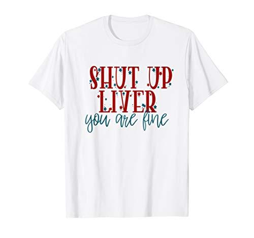 AMERIKANISCHEN 4. JULI SHIRTS TRINKEN SHIRT LUSTIG T-Shirt (Vierter Juli Niedlich, T-shirts)