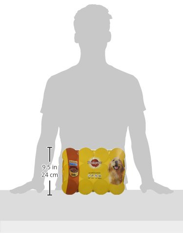 PEDIGREE Dog Food Can Jelly Selection 12 x 385 g (Pack of 2) 9