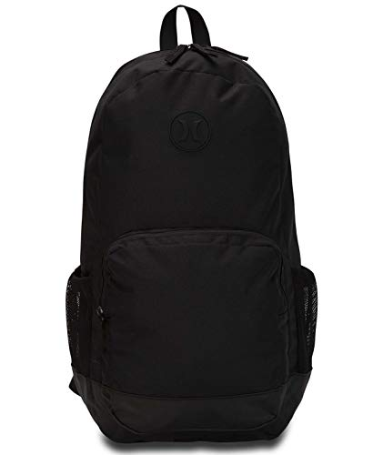 Hurley Herren U Renegade II SOLID Backpack Rucksack, Black, 1SIZE -
