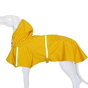 Hunde Regenmantel gelb und weitere Farben 9