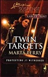 Twin Targets [Taschenbuch] by Perry, Marta