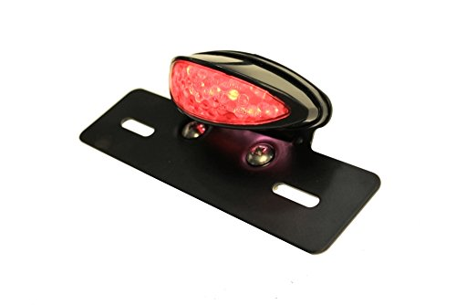 Rücklicht Bremslicht LED Rot Nummernschildbeleuchtung Kennzeichen Leuchte