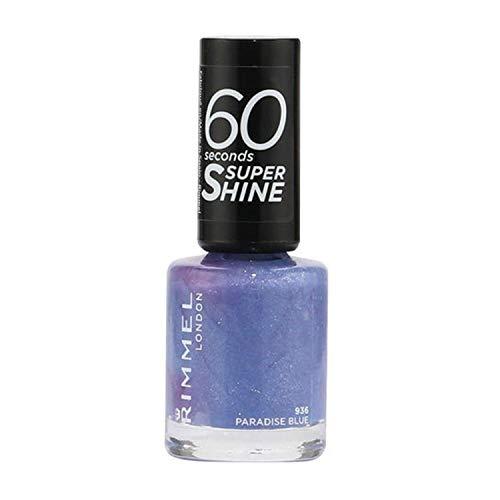 936 Paraíso Azul esmalte Uñas 60 Segundos Super