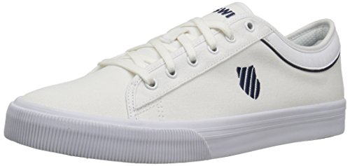 K-swiss Unisex Adulto Bridgeport Ii Sneaker Bianco (bianco / Blu Scuro 109)