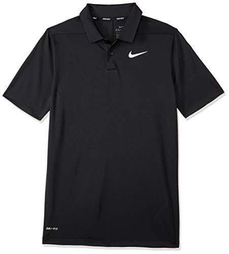 Nike Jungen Dri-Fit Victory Poloshirt, schwarz, XL (Dri-fit Nike Golf Polo)