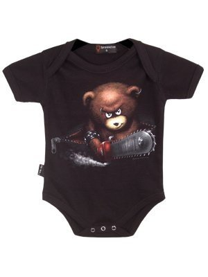 Spiral - Baby-Boys - BEWARE THE BEAR - Baby Sleepsuit