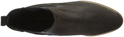Zinda 2421, Bottes courtes avec doublure chaude femme Gris - Grau (Carbón)