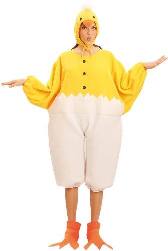Generique - Küken-Kostüm für Erwachsene Maskottchen Einheitsgröße - Küken Kostüm